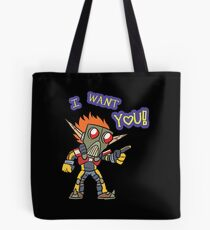 Lil Erol WANTS YOU Tote Bag