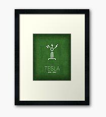 Tesla - Inventors Series Framed Print