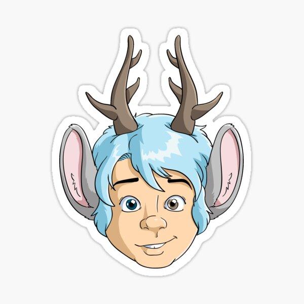 Blue's Face Sticker