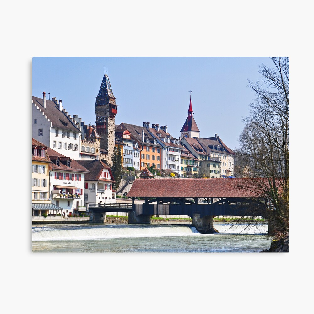 Bremgarten at early Spring Canvas Print