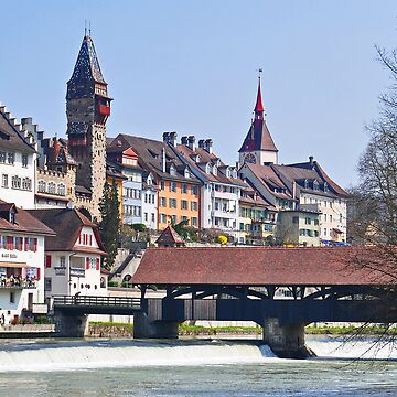 Bremgarten at early Spring by caladia