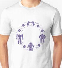 Toys for children: robots, remote control, cubes. Unisex T-Shirt