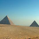 Pyramids at Giza by dunawori