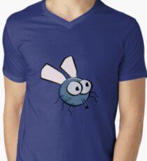 Fly cartoon Men's V-Neck T-Shirt
