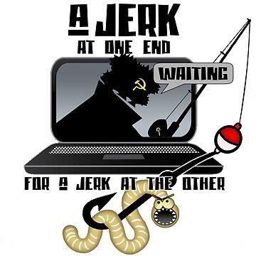 Russian Hacker Jerk by bunnyboiler