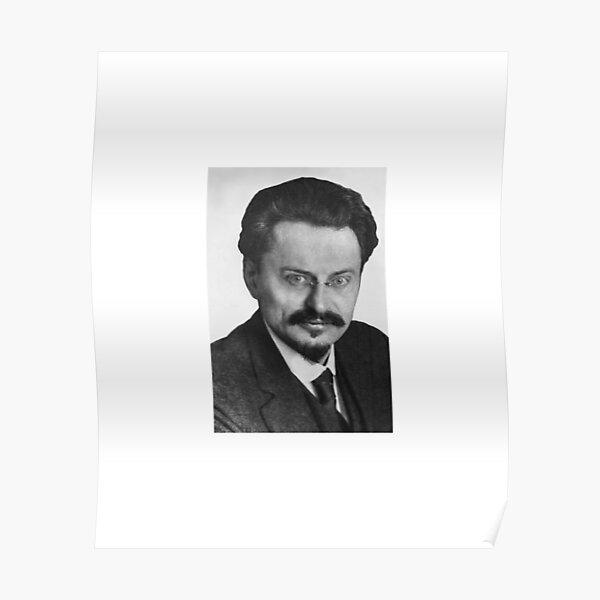 Leon Trotsky, Лев Троцкий, Leo Dawidowitsch Trotzki, Lev Davidovich Bronstein, RSDLP, Trotskyism Poster