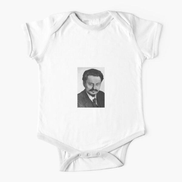 Leon Trotsky Лев #Троцкий Leo Dawidowitsch #Trotzki Lev Davidovich #Bronstein RSDLP Trotskyism #LeonTrotsky #ЛевТроцкий #LeoDawidowitschTrotzki #LevDavidovichBronstein #RSDLP #Trotskyism #Trotsky Short Sleeve Baby One-Piece