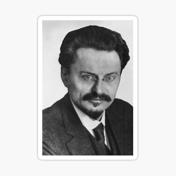 Jewish,  Leon Trotsky Лев #Троцкий Leo Dawidowitsch #Trotzki Lev Davidovich #Bronstein RSDLP Trotskyism #LeonTrotsky #ЛевТроцкий #LeoDawidowitschTrotzki #LevDavidovichBronstein #RSDLP #Trotskyism #Trotsky Sticker