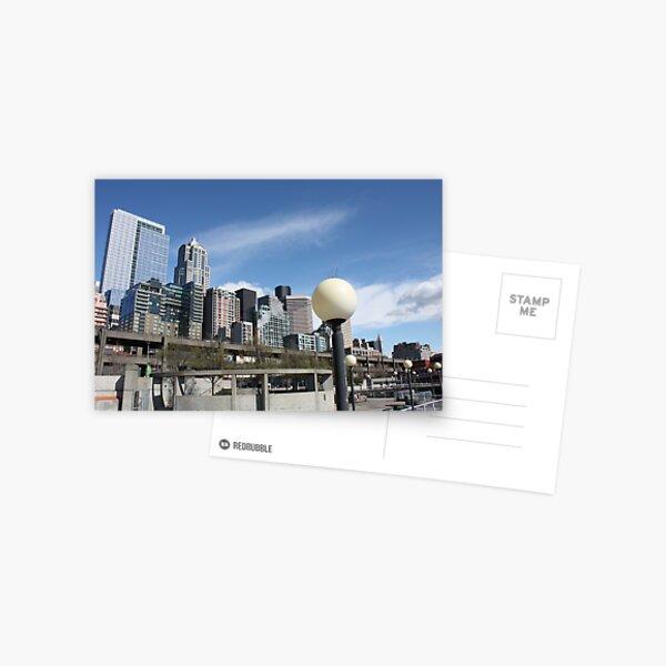 Seattle, sometimes Postcard