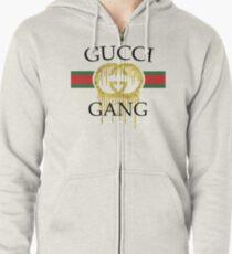 Lil Pump Gang Gang  Zipped Hoodie