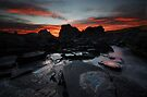 Kings Rocks at Sunset by Garth Smith