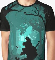 Zelda - Ocarina in the Woods Graphic T-Shirt