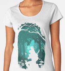 Zelda - Ocarina in the Woods Women's Premium T-Shirt