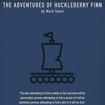 Abenteuer von Huck Finn von Mark Twain - Greatest Books Series von scienceispun
