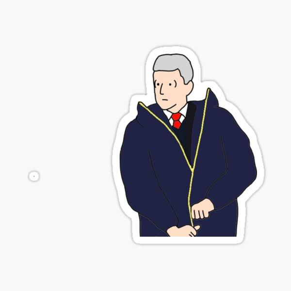 Wenger Coat Struggle Sticker