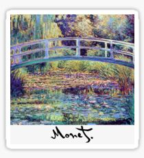 Monet - Japanese Bridge Sticker