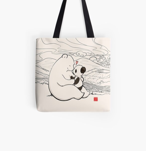 Close To Your Heart 2 All Over Print Tote Bag