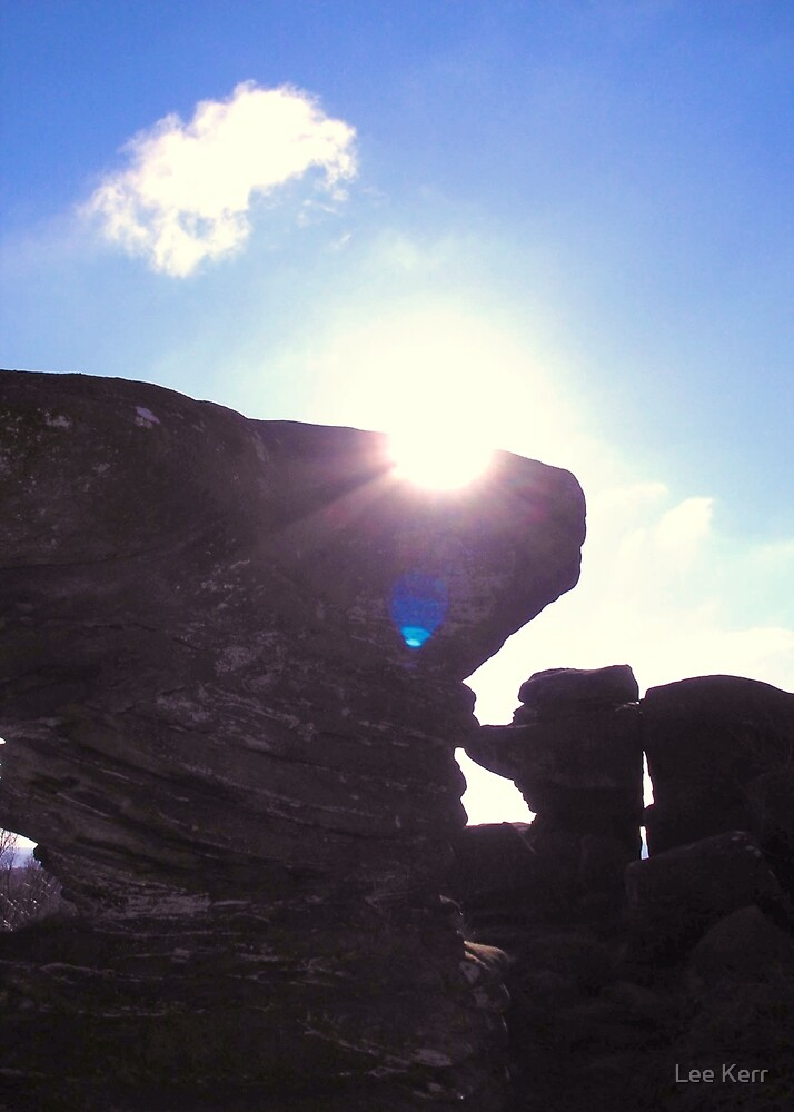Brimham Rocks by Lee Kerr
