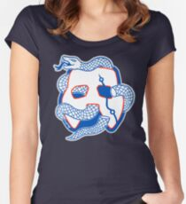 Embiid Mask Unite Women's Fitted Scoop T-Shirt