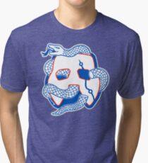 Embiid Mask Unite Tri-blend T-Shirt