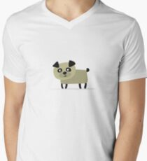 Dog Men's V-Neck T-Shirt