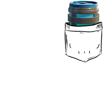 Chug Jug Pocket by BigBlack