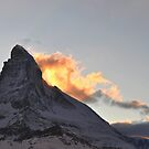 Burning Matterhorn by Rosy Kueng Photography