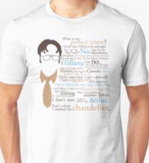 Dwight's Perfect Crime Unisex T-Shirt