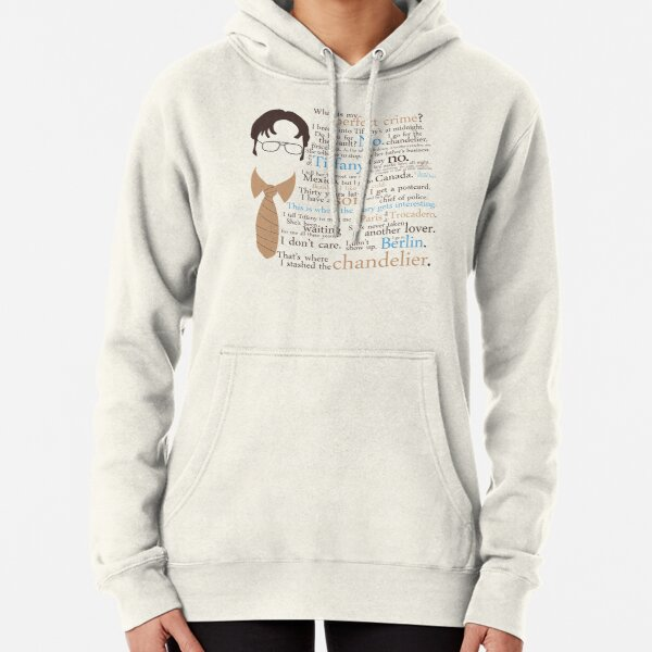 Dwight's Perfect Crime Pullover Hoodie
