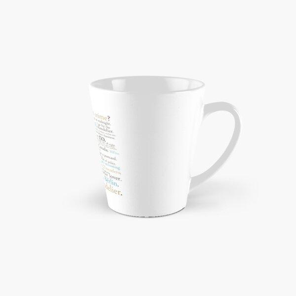 Dwight's Perfect Crime Tall Mug
