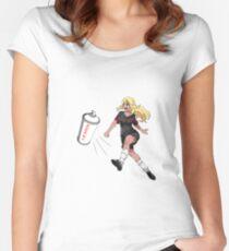 Vinylone sticker Women's Fitted Scoop T-Shirt