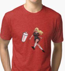 Vinylone sticker Tri-blend T-Shirt