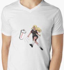 Vinylone sticker Men's V-Neck T-Shirt