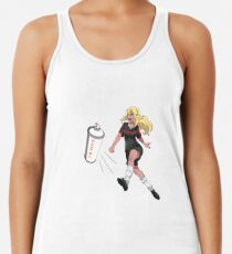 Vinylone sticker Racerback Tank Top