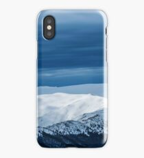 when in doubt go to the mountains iPhone Case/Skin