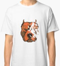 Pit Bull Broken Glasses  Classic T-Shirt