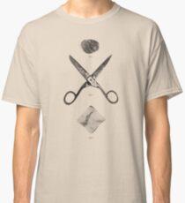ROCK / SCISSORS / PAPER Classic T-Shirt