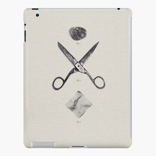 ROCK / SCISSORS / PAPER iPad Snap Case