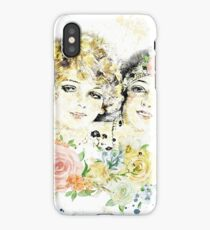 Friends and Roses iPhone Case/Skin