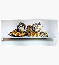 Waffles - Beautiful Food Poster