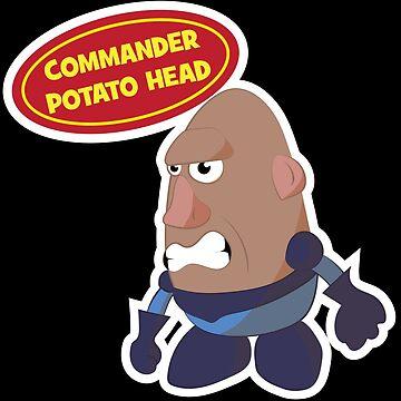 Commander Potato Head by JBGD