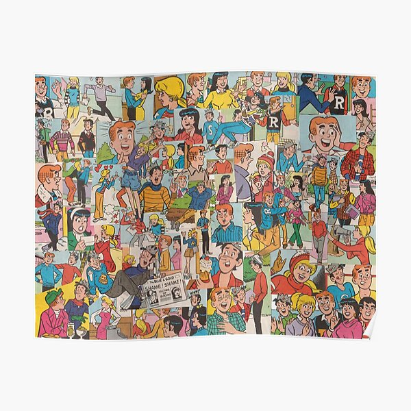 Archie Comics Collage #2 Poster