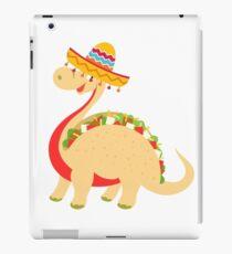 Red Mexican Tacosaurus  iPad Case/Skin