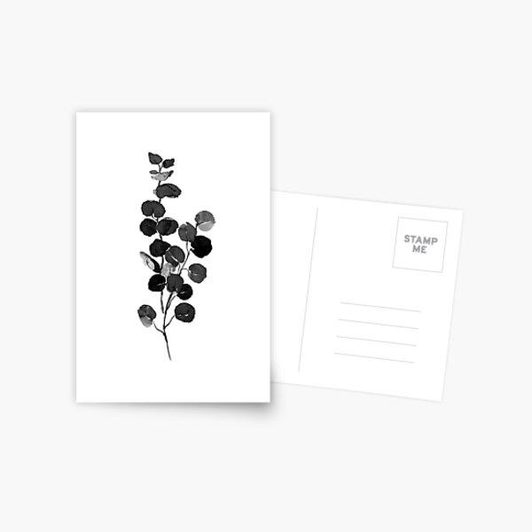 Plant print, Watercolor, Fashion print, Scandinavian art, Modern art, Wall art, Print, Minimalistic, Modern Postcard