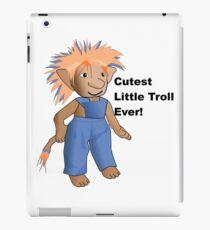 Cutest Little Troll Ever! iPad Case/Skin