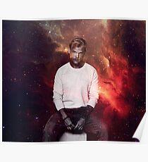 Avicii Galaxy Poster