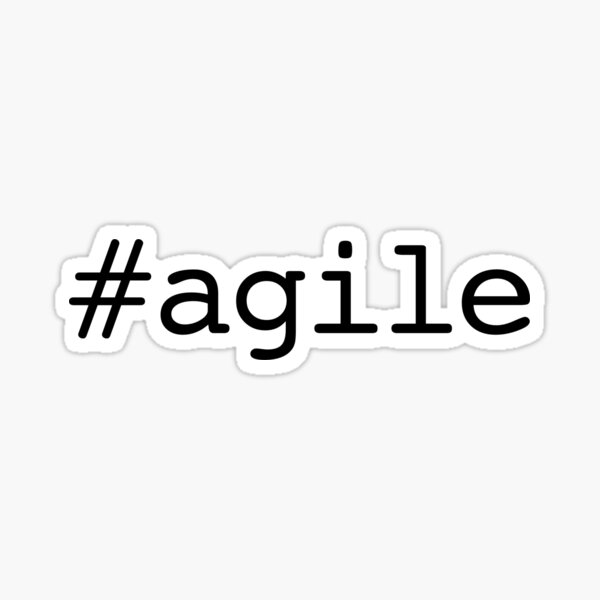 #agile Sticker