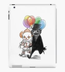 Babadook and Pennywise iPad Case/Skin