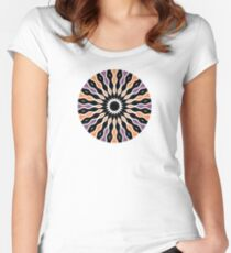 Hypnotic Radiance Women's Fitted Scoop T-Shirt