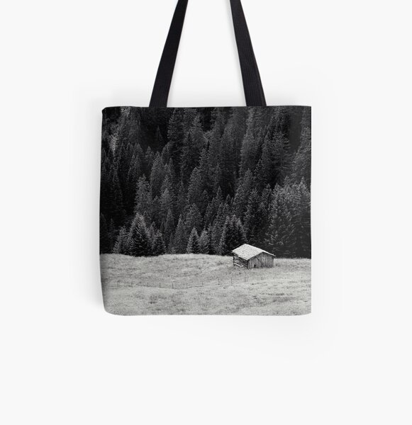 BEYOND FIRS Allover-Print Tote Bag